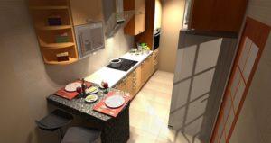 wizualizacje wizualizacja 3d kuchnia projekt